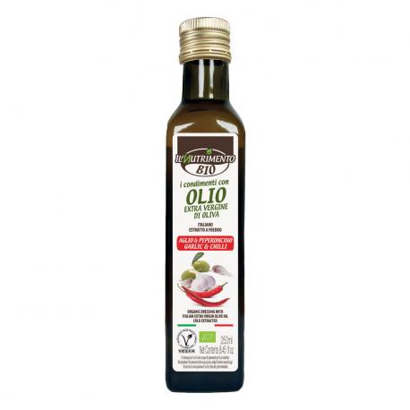 KRUIDIGE OLIE KNOFLOOK/CHILI Bio 250ml