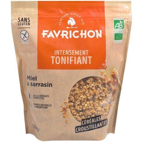 Favrichon - honey and buckwheat muesli 500g