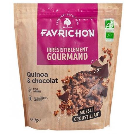 Favrichon - Crunchy Muesli quinoa-choc 450g