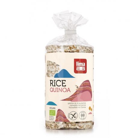 Rijst quinoa wafels 100%,Brood, toast en pizza