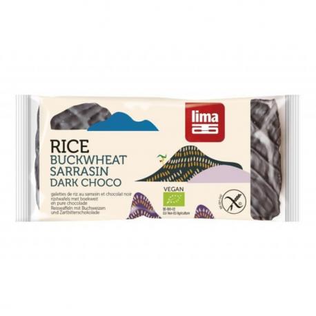 LIMA Rice waffles with buckwheat and chocolate 90g