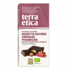 Dark Crunchy Chocolate Hazelnuts & Raspberry Organic