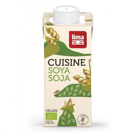 Crème Cuisine Soja (biologique) 200ml, Lima, Sauces