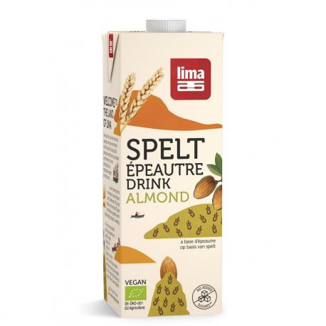 Spelt Almond Drink Organic 1L