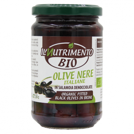 Olives noires 280g, NUTRIMENTO, Anti pasti et tapenades