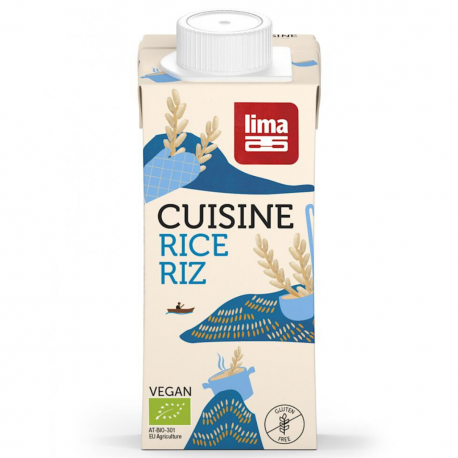 Crème Cuisine Riz (biologique) 200ml, Lima, Sauces