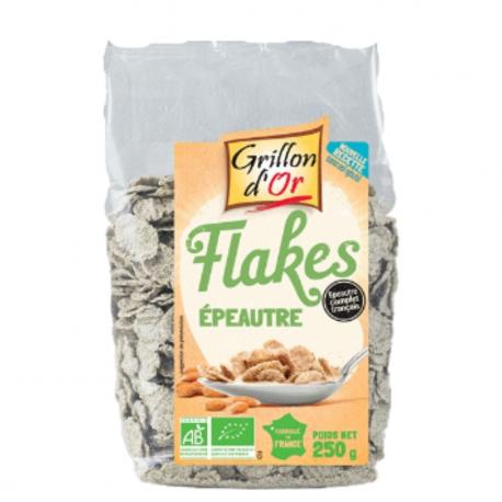 Flakes d'épeautre 250g, GRILLON D'OR, Céréales Petit déjeuner