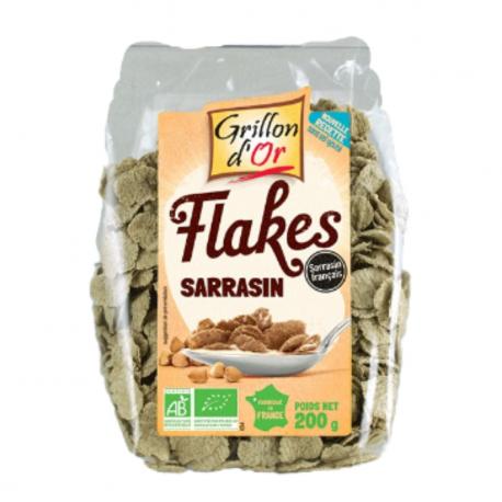 Flakes sarrasin 200g, GRILLON D'OR, Céréales Petit déjeuner