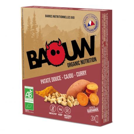 Barre Patate douce-Cajou-Curry Bio 25g
