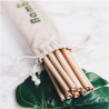 Bambaw - 12 Pailles en bambou 22cm