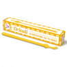 Yellow oriculi in bioplastic