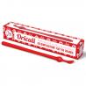 Red oriculi in bioplastic