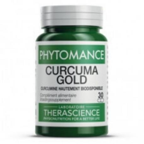 Therascience - Phytomance Curcuma Gold 30 capsules végétales