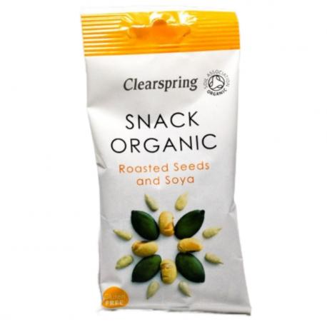 Snack Mix au soja grillé 35g, CLEARSPRING, Snacks et crackers