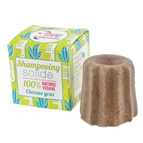 Shampoing solide cheveux gras à la litsée citronnée, Lamazuna,