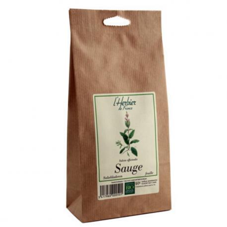 Leaves of Sage - Organic - L'herbier de France - 40g