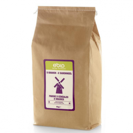 2bio - Meel 5 granen - 2 zaden 1kg