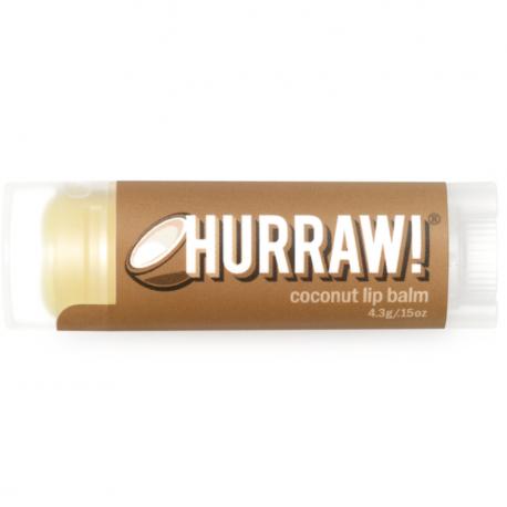 HURRAW! - Baume à Lèvres Noix de Coco 4,3g