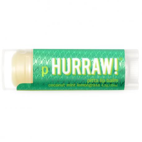 HURRAW! - Baume à Lèvres Ayurvedique Pitta 4,3g
