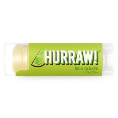 HURRAW! - Lime Lip Balm 4,3g