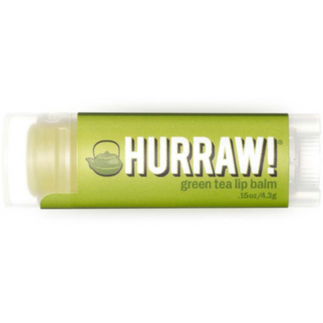 HURRAW! - Green Tea Lip Balm 4,3g