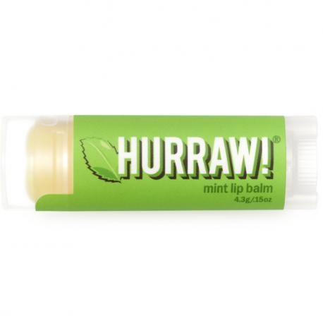 HURRAW! - Mint Lip Balm 4,3g