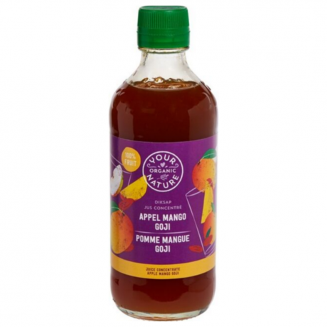 Juice Concentrate Apples Mangoes Goji Passion Organic 400ml
