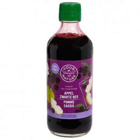 Concentrated Juice Apple Blackcurrant Organic 400ml