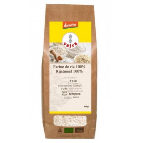 Farine de riz 100% Demeter 500g