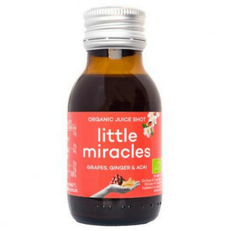 Little Miracles - Jus de raisin gingembre et açai bio