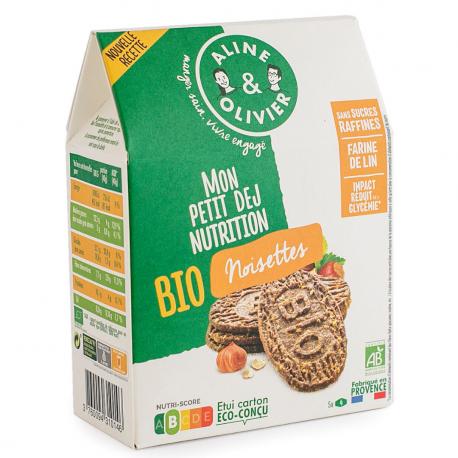 Hazelnuts Breakfast Biscuits Organic 190g