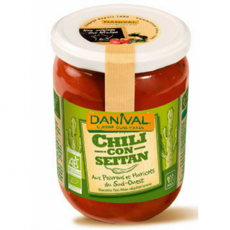 Danival - Seitan Chili 525g
