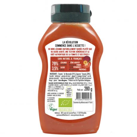 Quintesens - L'Incroyable Ketchup 100% Santé Bio 280g