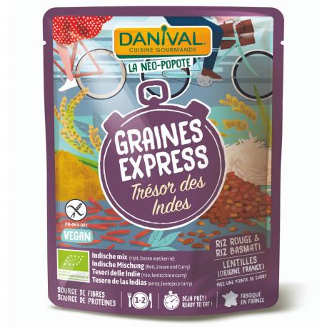 Danival Express Trésor des Indes 250g, Danival, Plats préparés