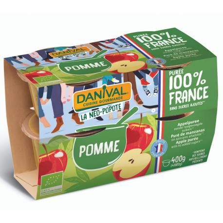 Apple Purée Organic 4x100g