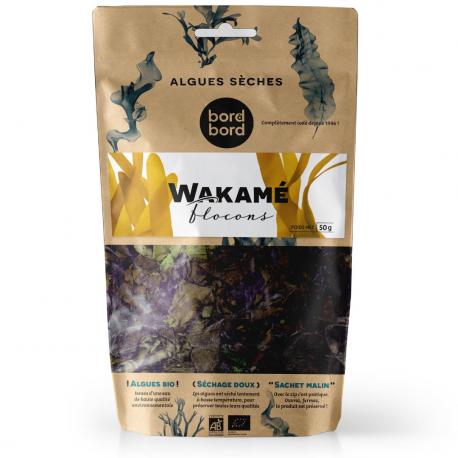 Bord-à-Bord - Flocons de Wakamé Bio 100g