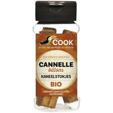 COOK - Cannelle Tuyau Bio 12 Gr