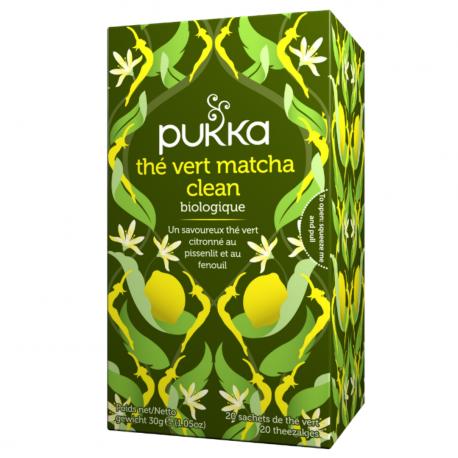 Pukka - Thé Vert Matcha Clean 20x Bio