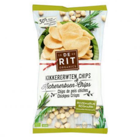 De Rit - Chips de pois chiches Romarin 75g