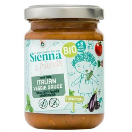 Sauce Italienne aux Légumes Bio 130g