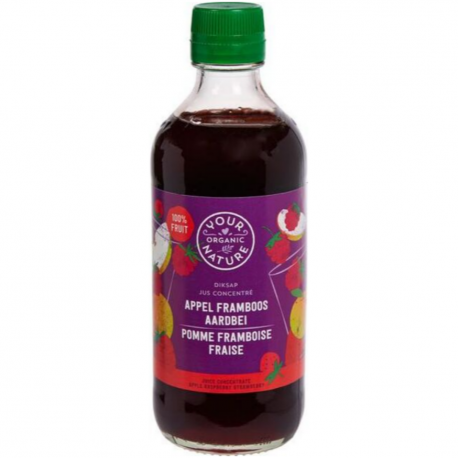 Concentrated Strawberry Raspberry Juice Concentrate Organic 400ml