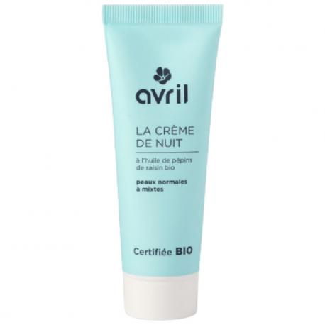 Avril - Crème de nuit peaux normales et mixtes 50ml Bio