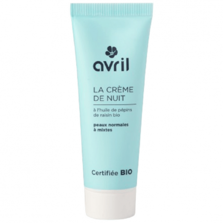 Avril - Nachtcreme Normale en gemengde huid 50ml Bio