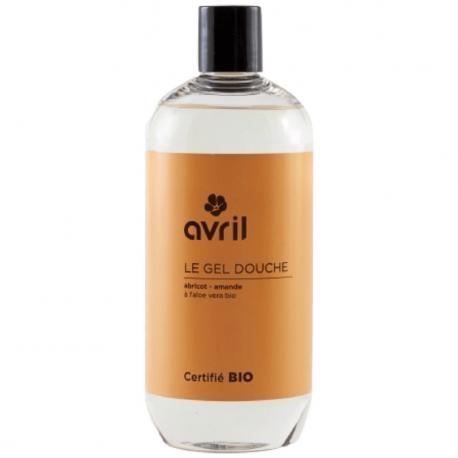 Avril - Apricot-almond shower gel 500ml Bio