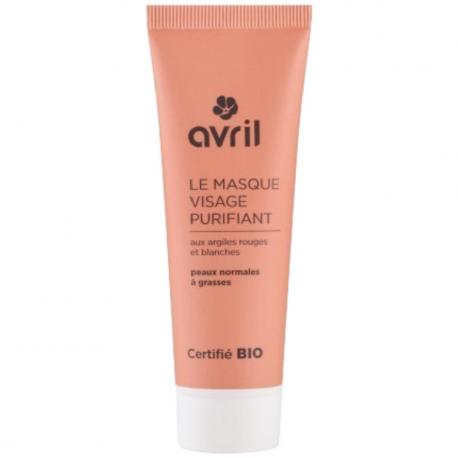 Avril - Zuiverend gezichtsmasker 50ml Bio