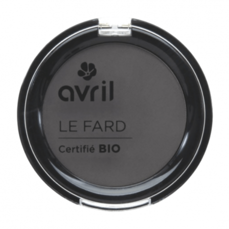 Avril - Fard gris anthracite mat Bio