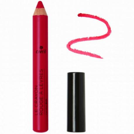 Avril - Crayon Rouge à lèvres Griotte Bio