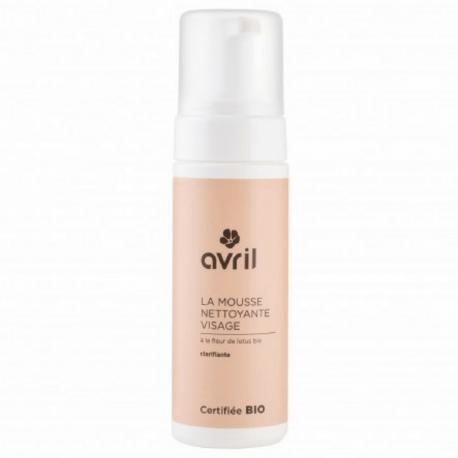 Avril - Gezichtsreinigend schuim met biologische lotusbloem - 150ml