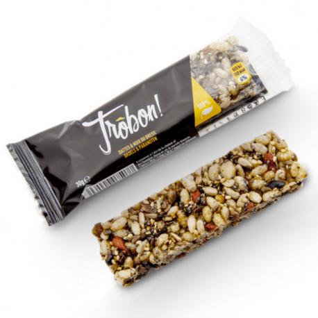 Trôbon - Barres céréales dattes & noix du brésil 40g