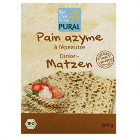 Pural - PAIN AZYME EPEAUTRE 200G